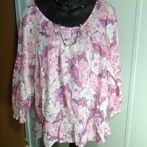 Izod blouse extra large
